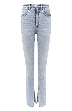 Женские джинсы DENIM X ALEXANDER WANG голубого цвета, арт. 4DC2204710   Фото 1
