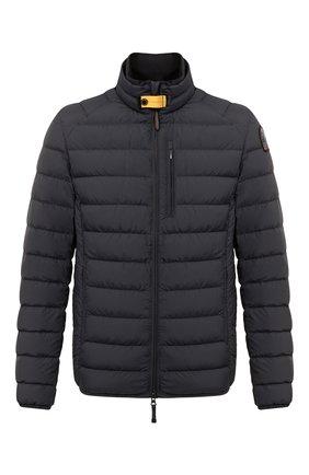 Мужская пуховая куртка ugo PARAJUMPERS черного цвета, арт. SL04/UG0 | Фото 1 (Материал подклада: Синтетический материал; Длина (верхняя одежда): Короткие; Материал внешний: Синтетический материал; Рукава: Длинные; Мужское Кросс-КТ: Верхняя одежда, Пуховик-верхняя одежда, пуховик-короткий; Стили: Спорт-шик; Кросс-КТ: Пуховик, Куртка; Материал утеплителя: Пух и перо)