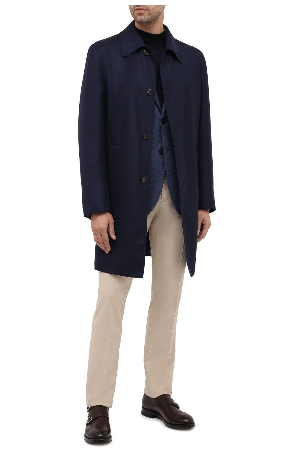Мужской шерстяной пиджак HARRIS WHARF LONDON синего цвета, арт. C7G27MYM | Фото 2