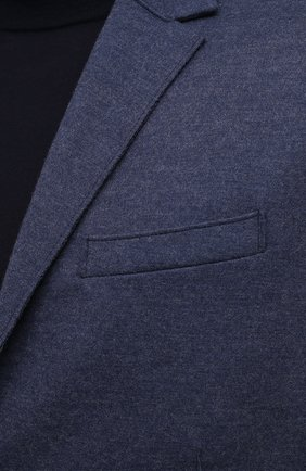 Мужской шерстяной пиджак HARRIS WHARF LONDON синего цвета, арт. C7G27MYM | Фото 5