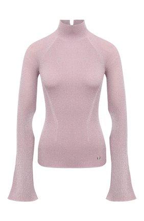 Женская водолазка LANVIN розового цвета, арт. RW-T0629M-MA08-A20   Фото 1