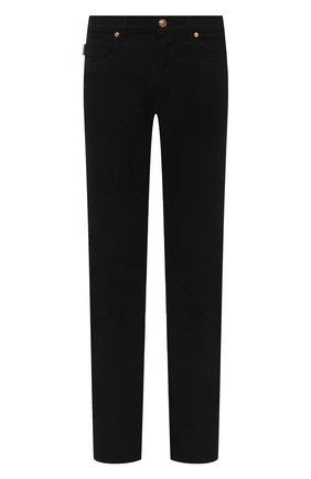Мужские джинсы VERSACE черного цвета, арт. A81832/A235980 | Фото 1
