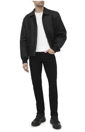 Мужские джинсы VERSACE черного цвета, арт. A81832/A235980 | Фото 2