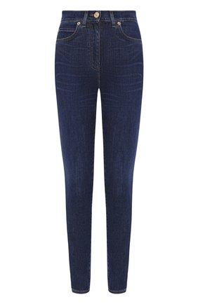 Женские джинсы VERSACE синего цвета, арт. A84996/A236475 | Фото 1