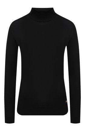 Женская шерстяная водолазка VERSACE черного цвета, арт. A87619/A235892   Фото 1