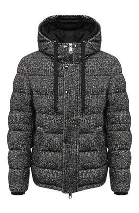Мужская пуховая куртка DOLCE & GABBANA серого цвета, арт. G90U4T/FM3CZ | Фото 1