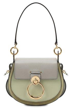 Женская сумка tess small CHLOÉ серого цвета, арт. CHC20AS153D04   Фото 1