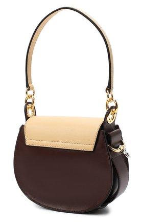 Женская сумка tess small CHLOÉ бежевого цвета, арт. CHC20AS153D04 | Фото 3