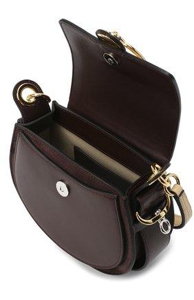 Женская сумка tess small CHLOÉ бежевого цвета, арт. CHC20AS153D04 | Фото 4