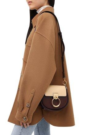 Женская сумка tess small CHLOÉ бежевого цвета, арт. CHC20AS153D04 | Фото 5