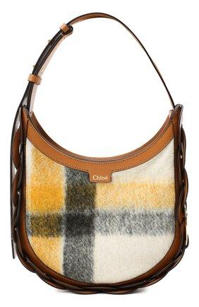 Женская сумка darryl small CHLOÉ коричневого цвета, арт. CHC20AS342D17   Фото 1
