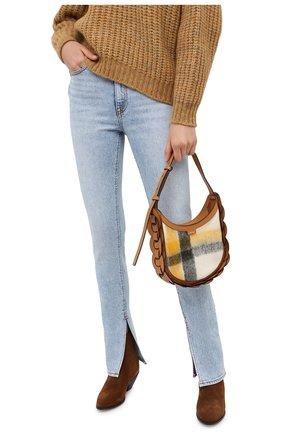 Женская сумка darryl small CHLOÉ коричневого цвета, арт. CHC20AS342D17   Фото 2