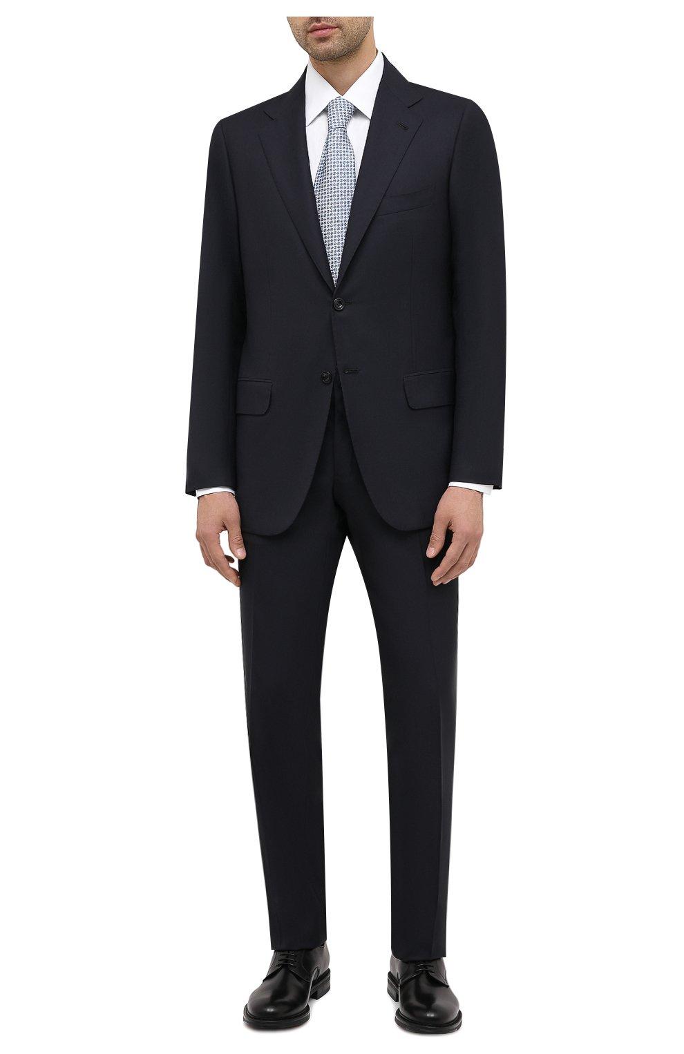 Мужские кожаные дерби W.GIBBS черного цвета, арт. 3169008/0215 | Фото 2 (Стили: Классический)