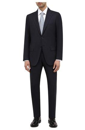 Мужской кожаные дерби W.GIBBS черного цвета, арт. 3169008/0215 | Фото 2