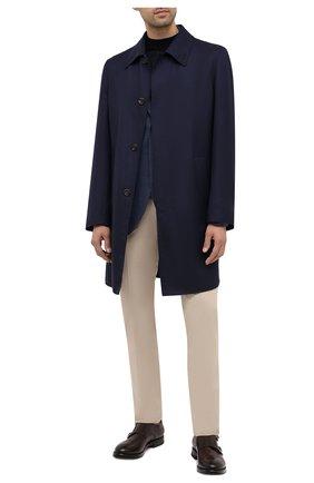 Мужские кожаные монки W.GIBBS коричневого цвета, арт. 0220004/2302 | Фото 2