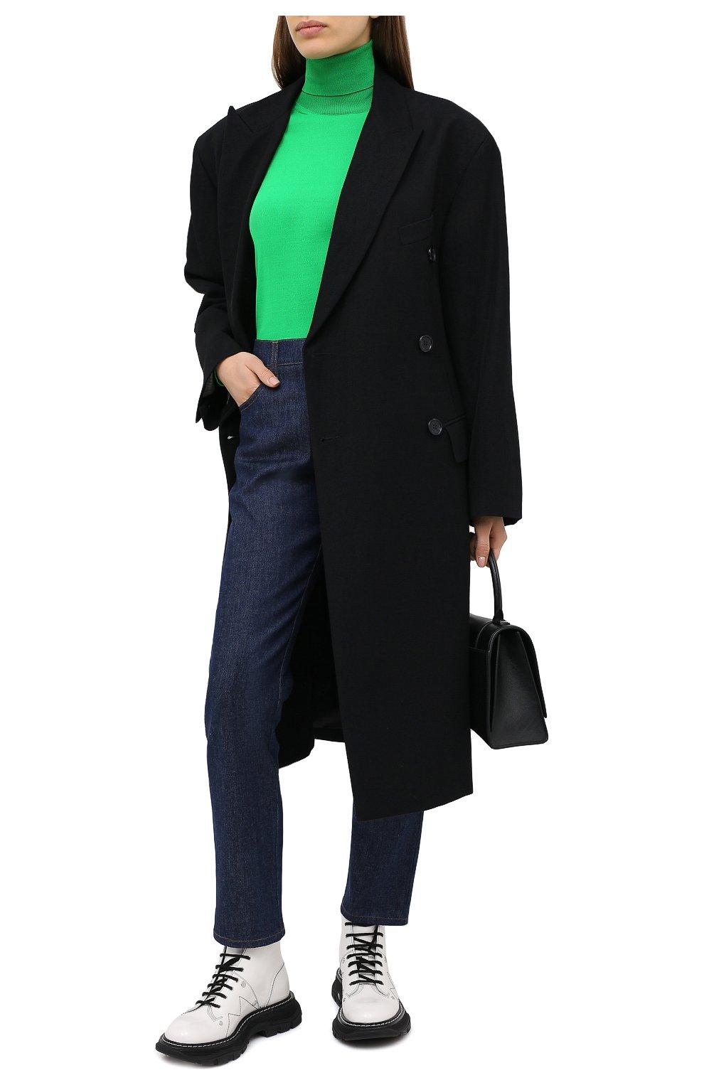 Женские джинсы TOM FORD синего цвета, арт. PAD057-DEX106   Фото 2