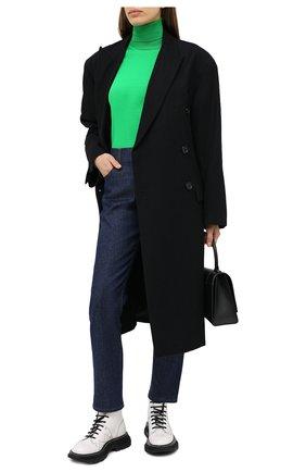 Женские джинсы TOM FORD синего цвета, арт. PAD057-DEX106 | Фото 2