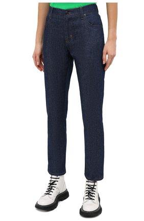 Женские джинсы TOM FORD синего цвета, арт. PAD057-DEX106   Фото 4