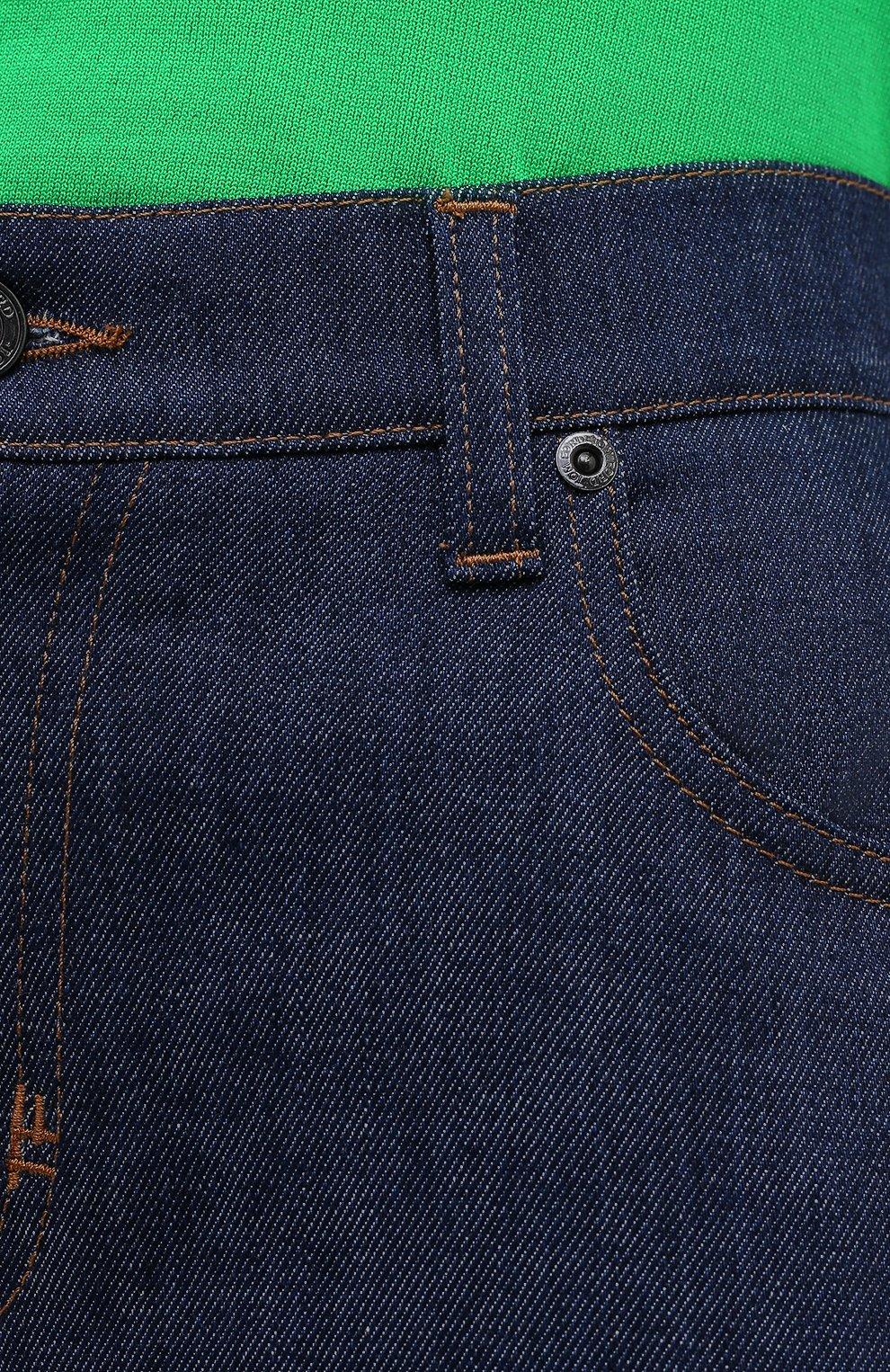 Женские джинсы TOM FORD синего цвета, арт. PAD057-DEX106   Фото 6