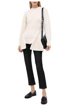 Женский свитер из шерсти и кашемира ALEXANDER MCQUEEN белого цвета, арт. 633692/Q1AQX | Фото 2
