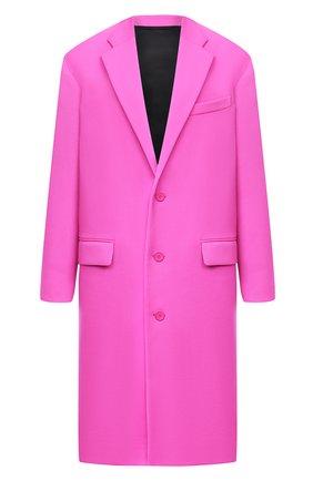 Женское шерстяное пальто BALENCIAGA фуксия цвета, арт. 626573/TIU06 | Фото 1