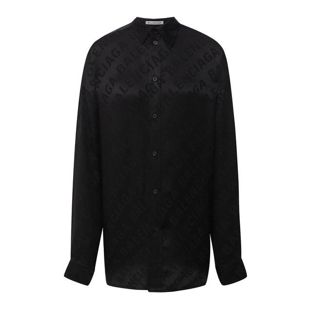Шелковая рубашка Balenciaga