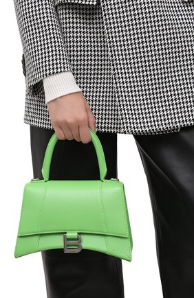 Женская сумка hourglass s BALENCIAGA светло-зеленого цвета, арт. 593546/1IZHY | Фото 2