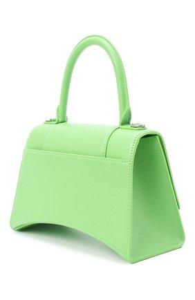 Женская сумка hourglass s BALENCIAGA светло-зеленого цвета, арт. 593546/1IZHY | Фото 3