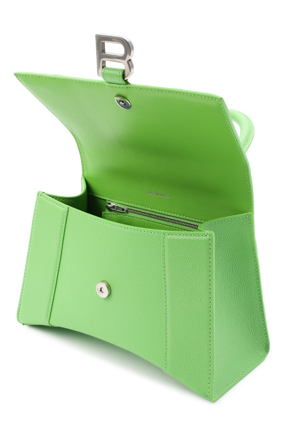 Женская сумка hourglass s BALENCIAGA светло-зеленого цвета, арт. 593546/1IZHY | Фото 4