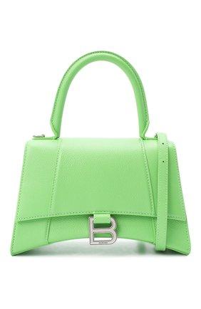 Женская сумка hourglass s BALENCIAGA светло-зеленого цвета, арт. 593546/1IZHY | Фото 6