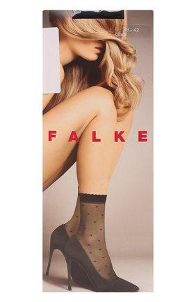 Женские капроновые носки FALKE черного цвета, арт. 41452 | Фото 1