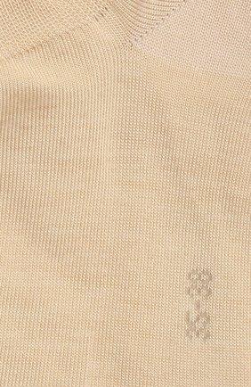 Женские носки active breeze FALKE кремвого цвета, арт. 46124 | Фото 2