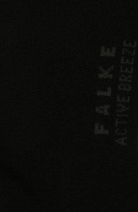 Женские носки active breeze FALKE черного цвета, арт. 46124 | Фото 2