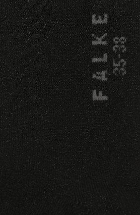 Женские носки shiny FALKE черного цвета, арт. 46250 | Фото 2