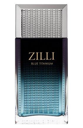 Мужской парфюмерная вода blue titanium ZILLI бесцветного цвета, арт. 3760040118024 | Фото 1