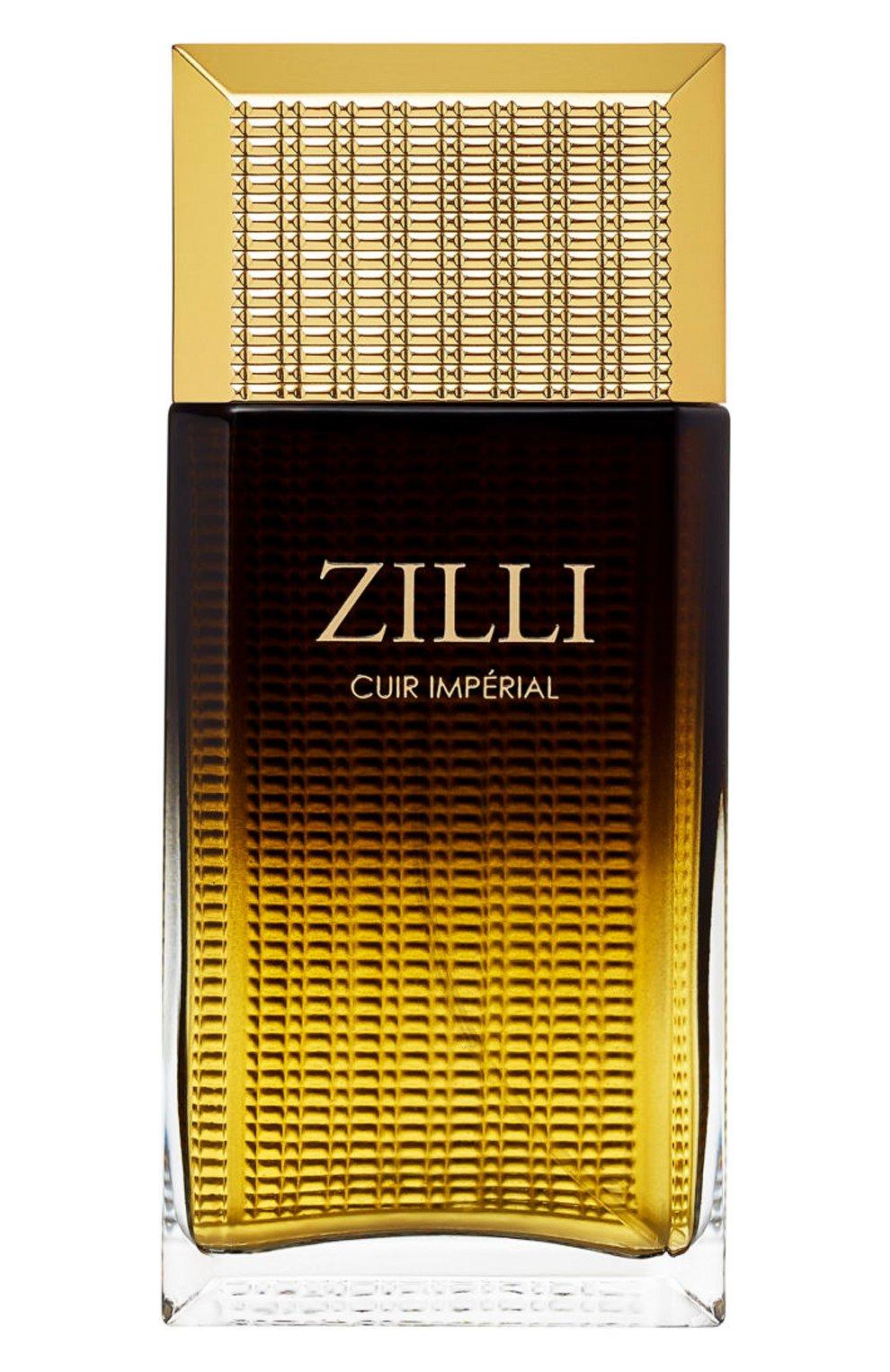 Мужской парфюмерная вода cuir imperial ZILLI бесцветного цвета, арт. 3760040118000   Фото 1