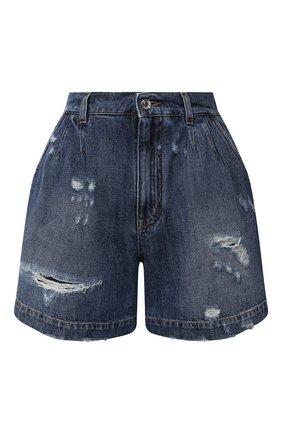 Женские джинсовые шорты DOLCE & GABBANA голубого цвета, арт. FTBXBD/G8CT6 | Фото 1