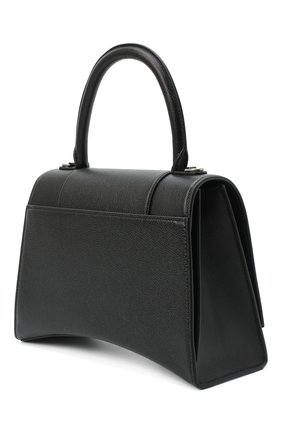 Женская сумка hourglass m BALENCIAGA черного цвета, арт. 619668/1IZHY | Фото 3