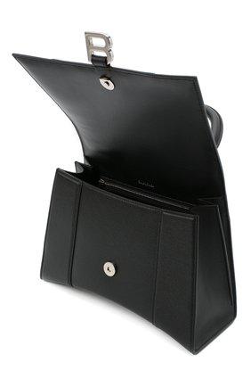 Женская сумка hourglass m BALENCIAGA черного цвета, арт. 619668/1IZHY | Фото 5