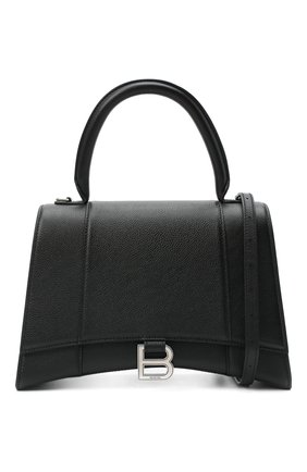 Женская сумка hourglass m BALENCIAGA черного цвета, арт. 619668/1IZHY | Фото 6
