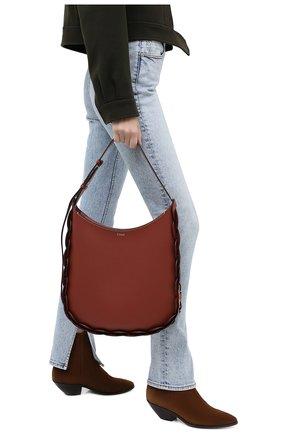 Женская сумка darryl CHLOÉ коричневого цвета, арт. CHC20US341C61 | Фото 2