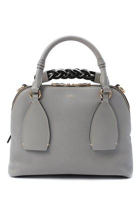 Женская сумка daria CHLOÉ серого цвета, арт. CHC20US360C62   Фото 1