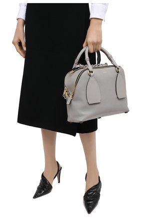 Женская сумка daria CHLOÉ серого цвета, арт. CHC20US360C62   Фото 2