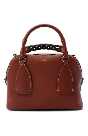Женская сумка daria CHLOÉ коричневого цвета, арт. CHC20US360C62   Фото 1