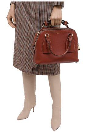Женская сумка daria CHLOÉ коричневого цвета, арт. CHC20US360C62 | Фото 2