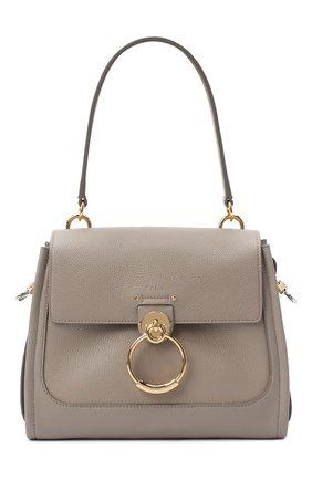Женская сумка tess day small CHLOÉ серого цвета, арт. CHC20AS142C62   Фото 1