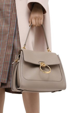 Женская сумка tess day small CHLOÉ серого цвета, арт. CHC20AS142C62   Фото 2