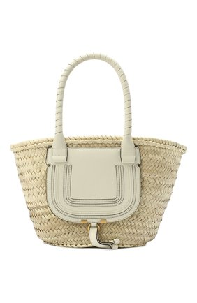 Женский сумка marcie medium CHLOÉ белого цвета, арт. CHC20US828C97 | Фото 1