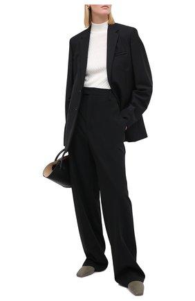 Женская шелковый свитер DOLCE & GABBANA белого цвета, арт. FX883T/JASNV | Фото 2