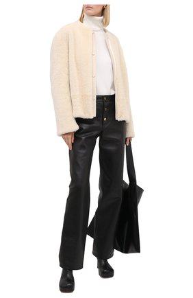 Женская кашемировый свитер DOLCE & GABBANA белого цвета, арт. FX832T/JAW5A | Фото 2